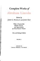 Complete Works of Abraham Lincoln PDF