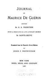 Journal of Maurice de Guérin