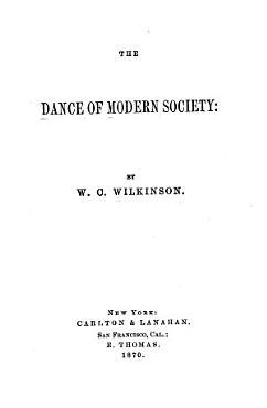 The Dance of Modern Society PDF