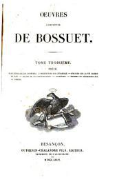Oeuvres complètes de Bossuet: Volume3