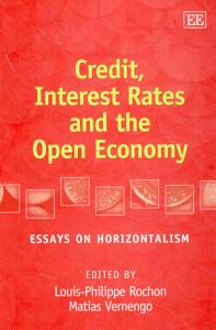 Credit  Interest Rates and the Open Economy Book