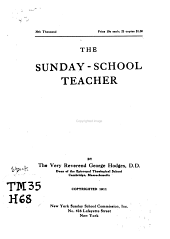 The Sunday-school Teacher