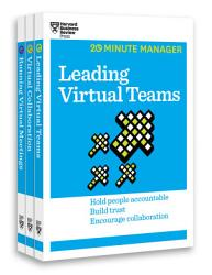 The Virtual Manager Collection  3 Books   HBR 20 Minute Manager Series  PDF