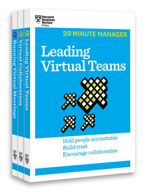 The Virtual Manager Collection  3 Books   HBR 20 Minute Manager Series