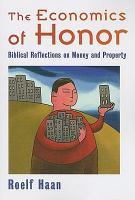 The Economics of Honor PDF