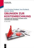 bungen zur Kostenrechnung PDF