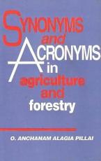 Synonyms And Acronyms In Agriculture And Forestry PDF