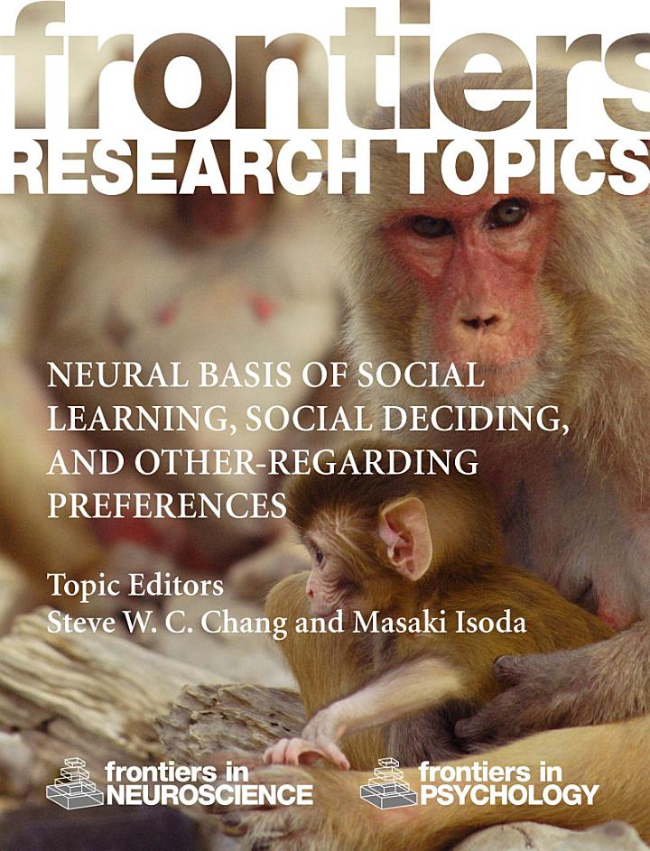 Neural basis of social learning, social deciding, and other-regarding preferences