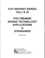 POF Premise Wiring Technology Applications   Standards PDF