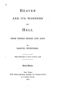 Heaven and Its Wonders and Hell  from Things Heard and Seen PDF