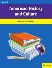 American History and Culture: Instant Activities