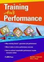 Training Ain't Performance