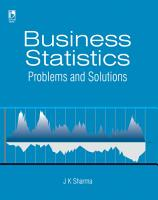 Business Statistics  Problems   Solutions PDF