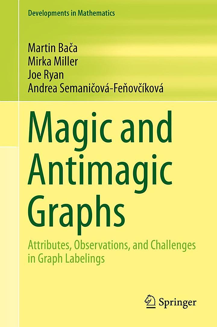 Magic and Antimagic Graphs