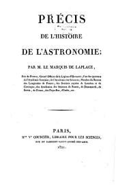 Précis de l'histoire de l'astronomie