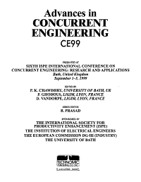 Advances in Concurrent Engineering PDF