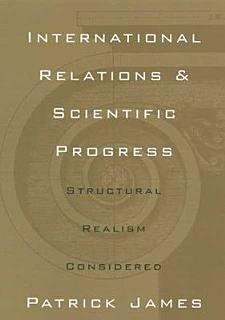 International Relations and Scientific Progress Book