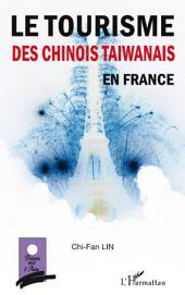 Le tourisme des chinois taïwanais en France