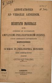 Adnotationes ad Vergilii Aeneidem