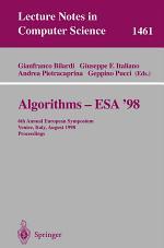 Algorithms - ESA '98