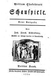 William Shakspeare's Schauspiele: th. Ein sommernachtstraum. Der liebe müh ist umsonst. Der kaufmann von Venedig