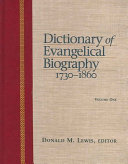 Dictionary of Evangelical Biography PDF
