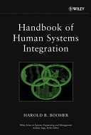 Handbook of Human Systems Integration