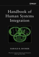 Handbook of Human Systems Integration PDF