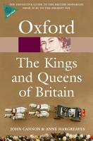 The Kings and Queens of Britain PDF