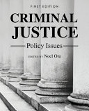 Criminal Justice Policy Issues PDF