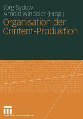 Organisation der Content-Produktion