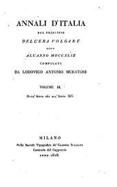 Annali d'Italia: dal principio dell'era volgare sino all'anno MDCCXLIX, Volume 3