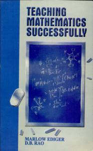 Teaching Mathematics Successfully PDF