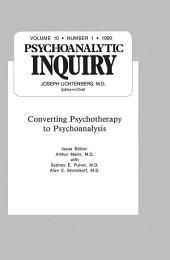 Converting Psychoanalysis: Psychoanalytic Inquiry, 10.1