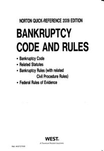 Bankruptcy Code and Rules PDF