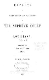 Louisiana Reports: Cases Argued and Determined in the Supreme Court of Louisiana, Issue 60