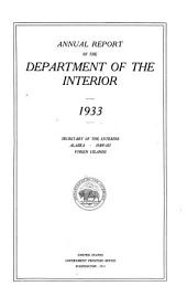Annual Report of the Department of the Interior