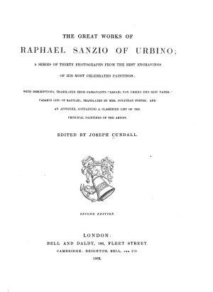 The Great Works of Raphael Sanzio of Urbino PDF
