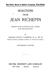 Selections from Jean Richepin