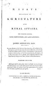 Essays Relating to Agriculture and Rural Affairs: Volume 2