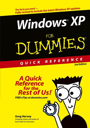 Windows XP For Dummies Quick Reference PDF
