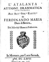L' Atalanta: Attione Drammatica