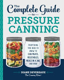 The Complete Guide to Pressure Canning Book