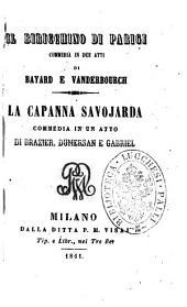 Il biricchino di Parigi commedia in due atti di Bayard e Vanderbourch
