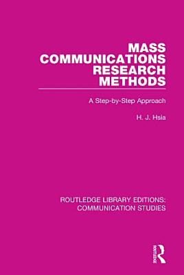 Mass Communications Research Methods PDF