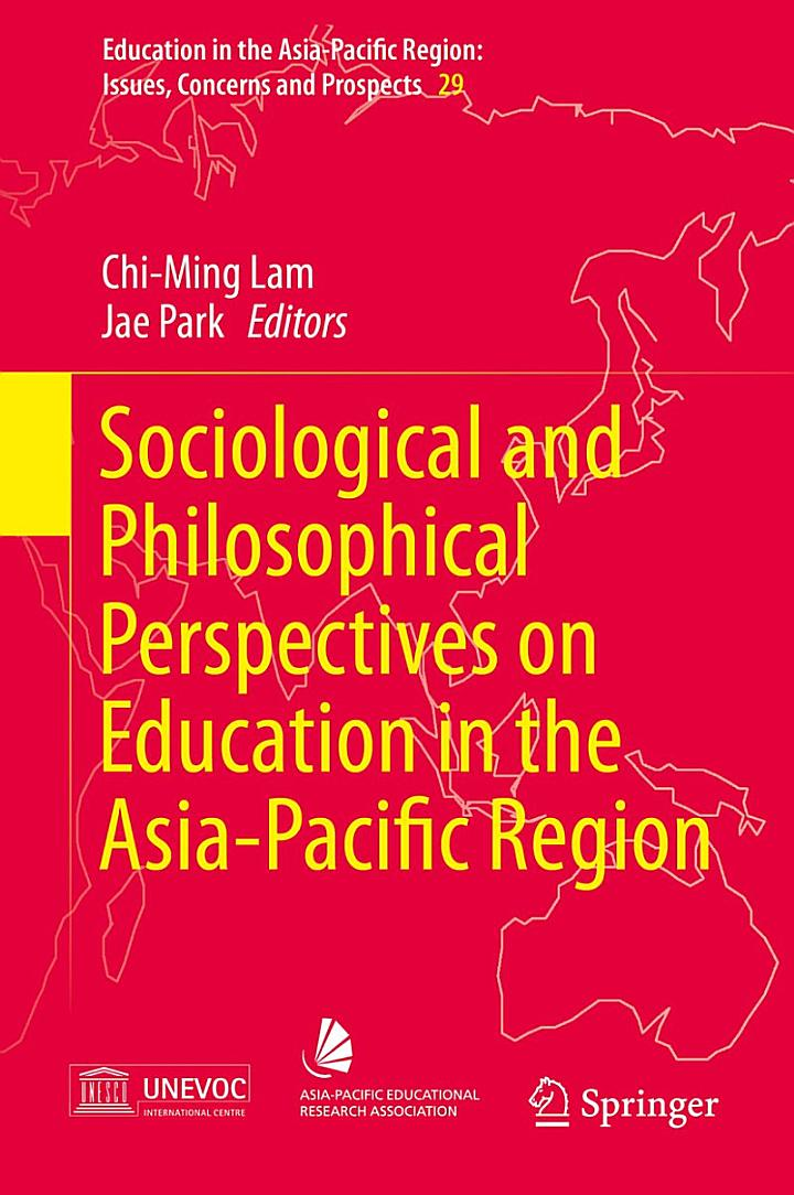Sociological and Philosophical Perspectives on Education in the Asia-Pacific Region