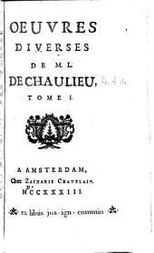 Œuvres diverses de M. L. de Chaulieu