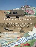 RVing Slab City, California