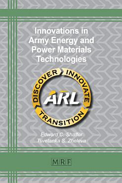 Innovations in Army Energy and Power Materials Technologies PDF
