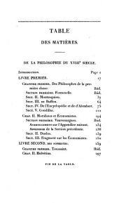 Lycée, ou Cours de littérature ancienne et moderne: Philosophie